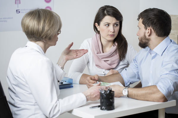 Family discussing stimulant abuse treatment